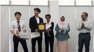 Congratulations to The University of Tokyo team for winning 1st prize at the IHL Role Play Asia Regional Round
